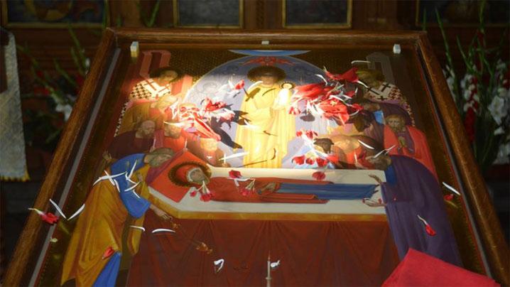 """Hramul bisericii """"Adormirea Maicii Domnului"""""""
