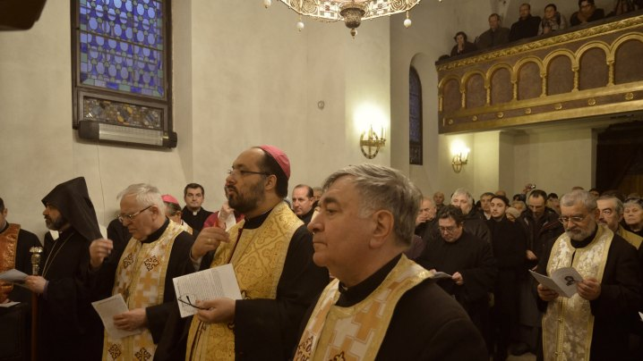 Octava de Rugăciune pentru Unitatea Creștinilor 2015 – momente de la Catedrala greco-catolică