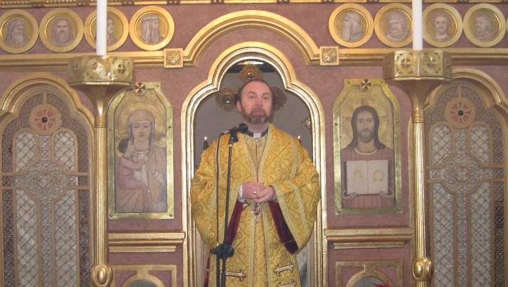 "PS Claudiu la Catedrala greco-catolica ""Sfântul Vasile cel Mare"""