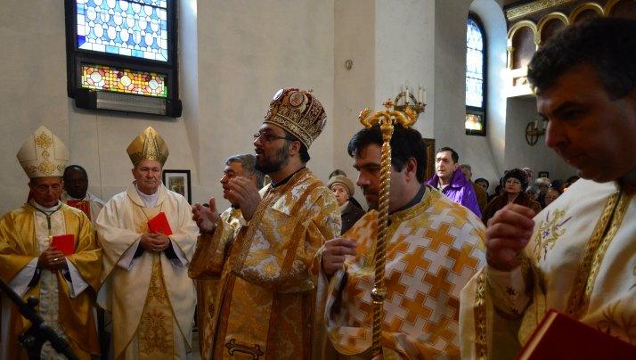 Bunavestire – sărbătorită la Catedrala greco-catolică Sfântul Vasile cel Mare din București