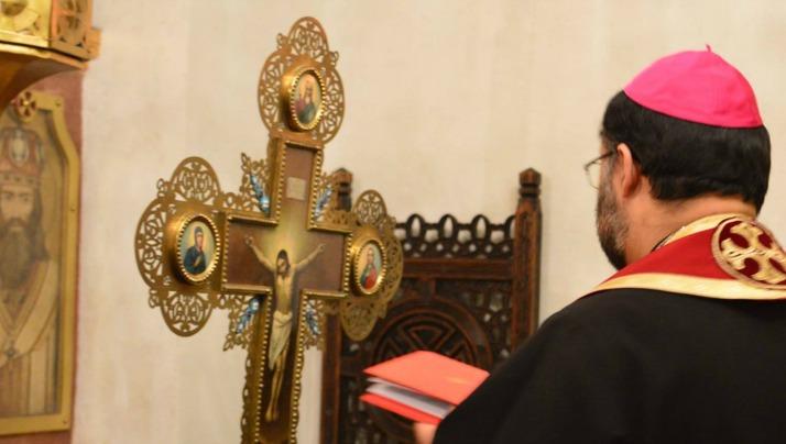 Slujba Mântuitoarelor pătimiri în Catedrala Sfântul Vasile cel Mare