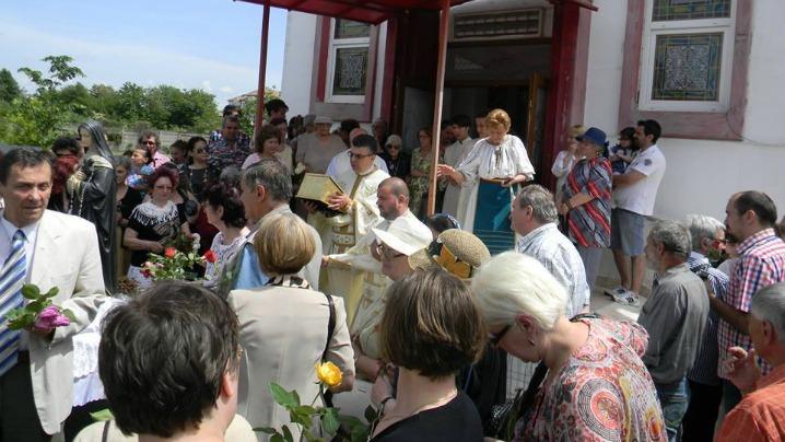 Sfânta Rita – ocrotitoarea parohiei din Râmnicu Vâlcea