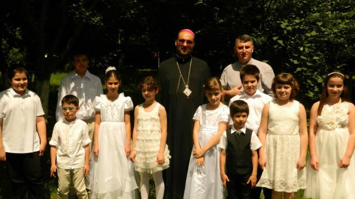 Prima Spovadă și Împărtășanie Solemnă în Parohia greco-catolică din Drumul Taberei