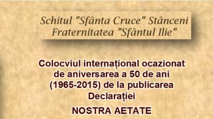 Declarația Nostra Aetate 1965-2015