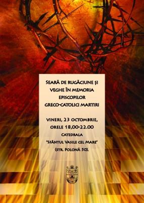 În memoria Episcopilor martiri