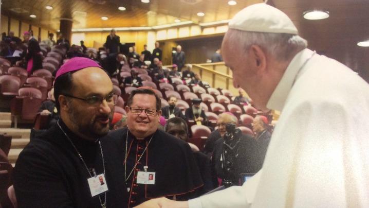 Cuvântul PS Sale Mihai la Sinodul Episcopilor de la Roma, în prezenţa Sfântului Părinte Papa Francisc