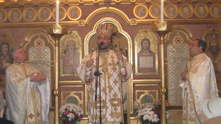 Sărbătoarea Sfinților Arhangheli la catedrală