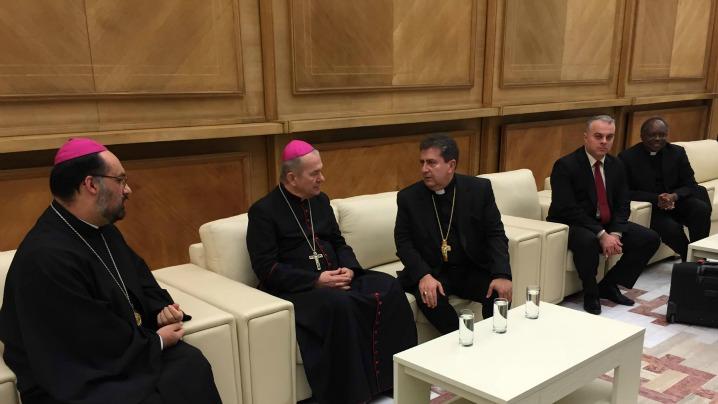 Noul Nunţiu Apostolic a ajuns în România