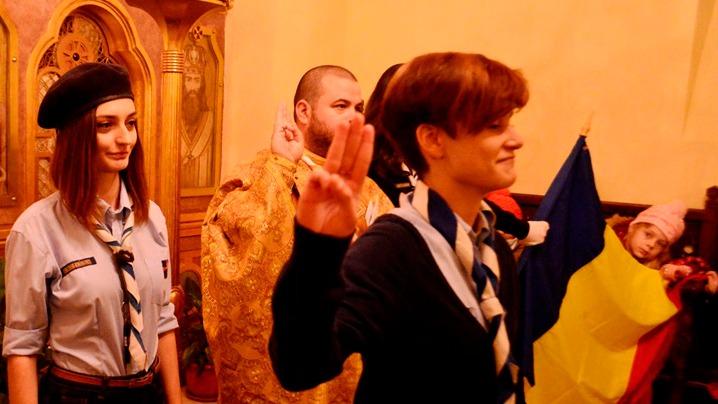Cercetașii Români Uniți – 10 ani sărbătoriți la București