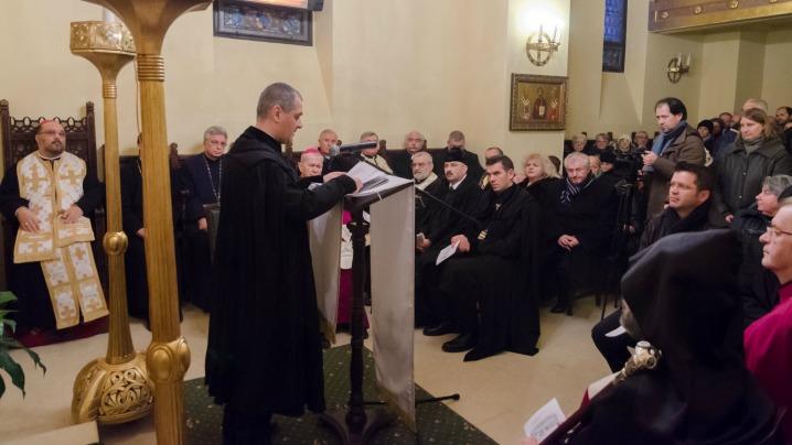 Rugăciune pentru unitatea creștină la catedrala Sfântul Vasile cel Mare