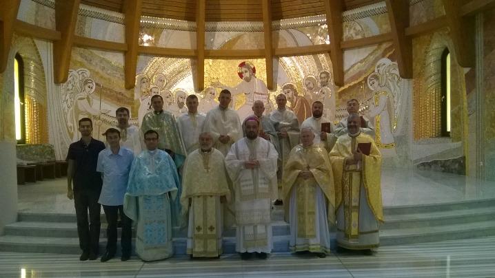 Preoții Eparhiei reuniți la Ciofliceni