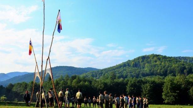Cercetașii Români Uniți în 2018 – pe Valea Comănei și la adăpostul Colinelor Transilvaniei