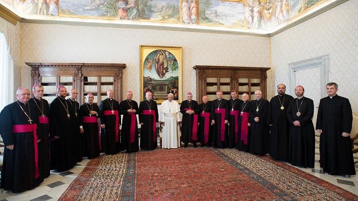 Vizita ad limina a episcopilor români