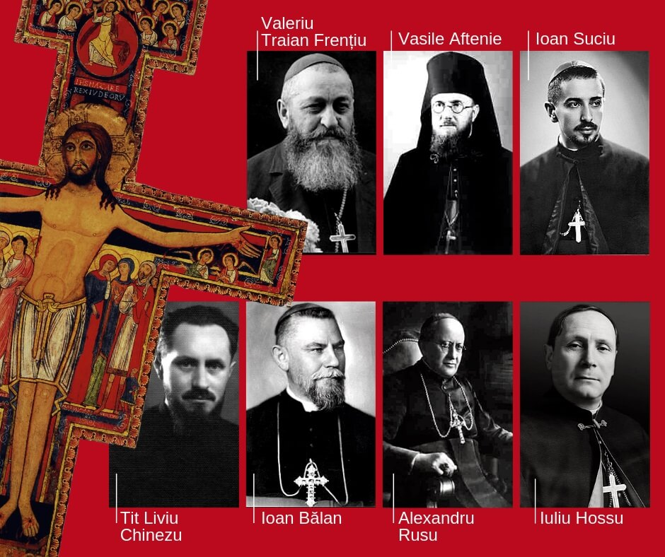 Papa a autorizat proclamarea decretului privind martiriul celor șapte episcopi greco-catolici