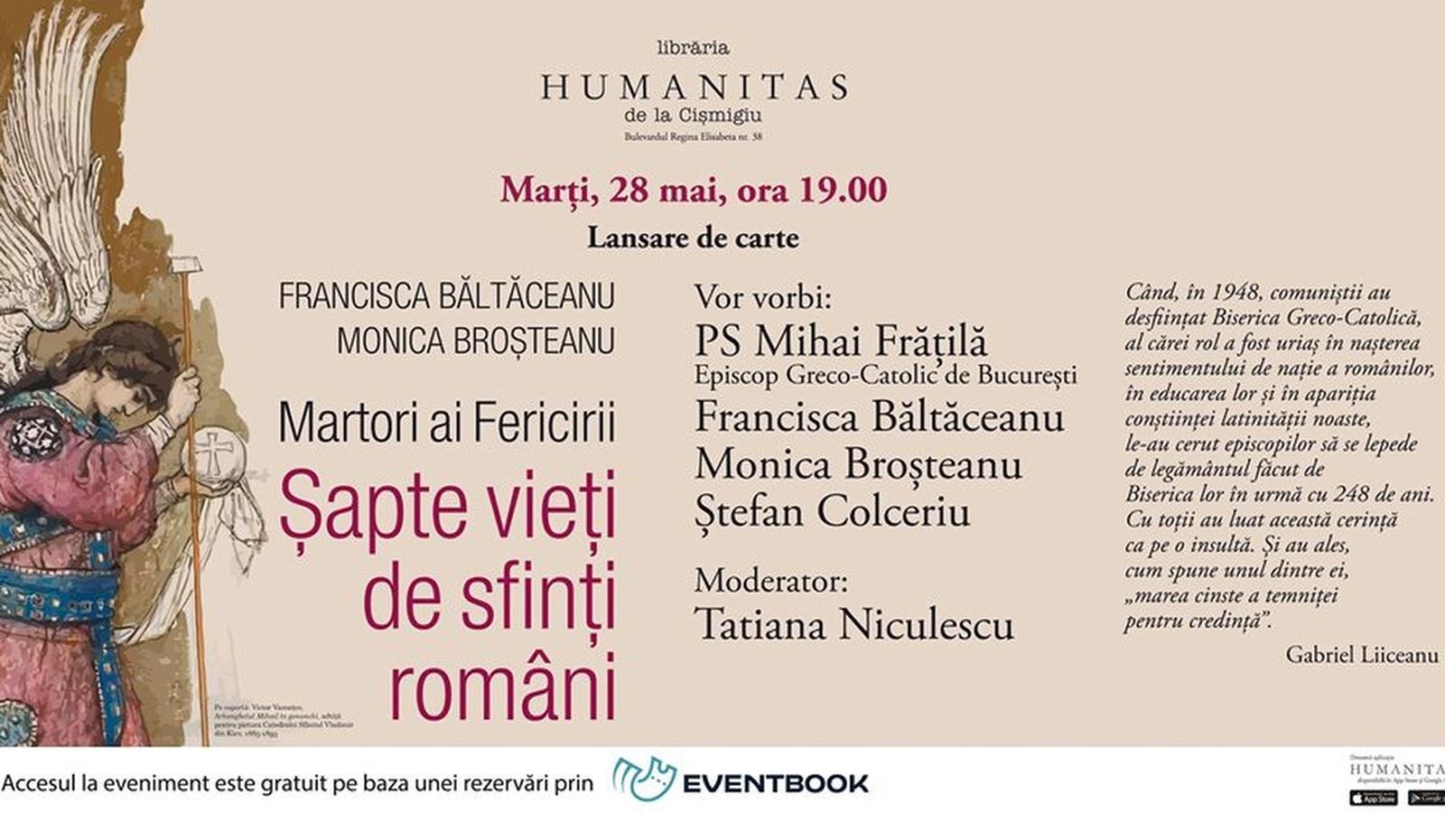 Martori ai Fericirii. Șapte vieți de sfinți români