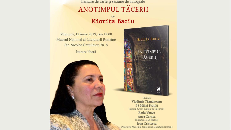 """""""Anotimpul Tăcerii"""" – Lansare de carte"""