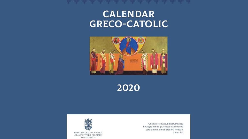 Calendarul și Agenda liturgică pe anul 2020