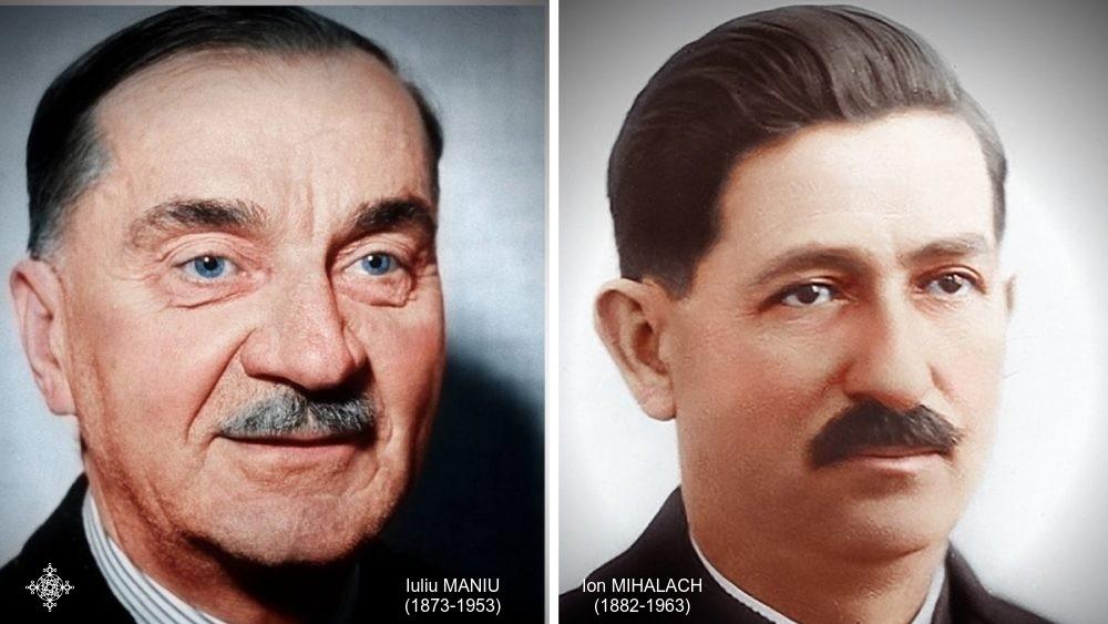 Maniu și Mihalache, comemorați la București