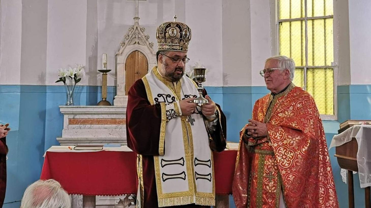 Monseniorul Liviu Oțoiu la 75 de ani