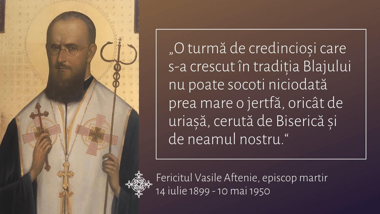"""Fer. Vasile Aftenie: """"Acasă"""" este la Blaj și la Roma, este """"Apusul civilizat"""""""