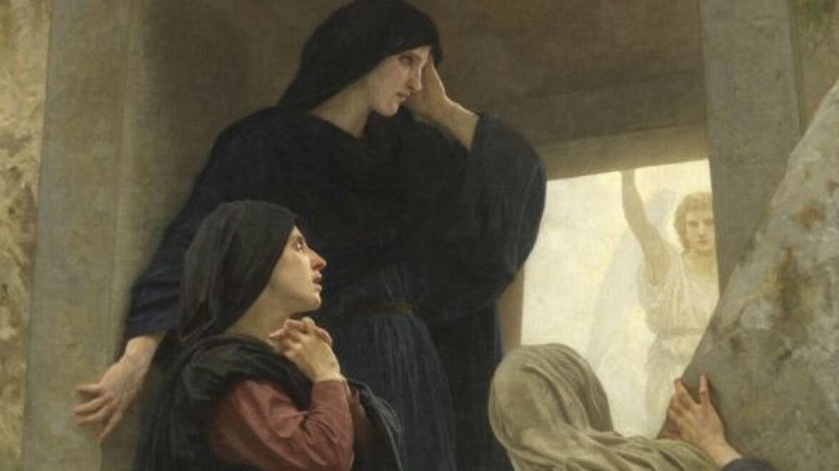 Îngerul către mironosițe: N-ați greșit doar adresa, ci ați confundat și Locatarul!