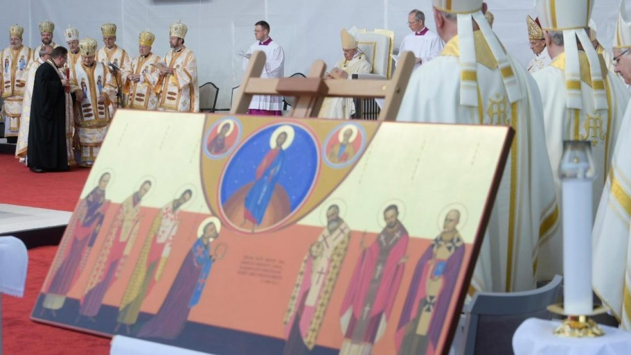 Istoria icoanei celor șapte episcopi martiri. Amintiri la un an de la beatificare