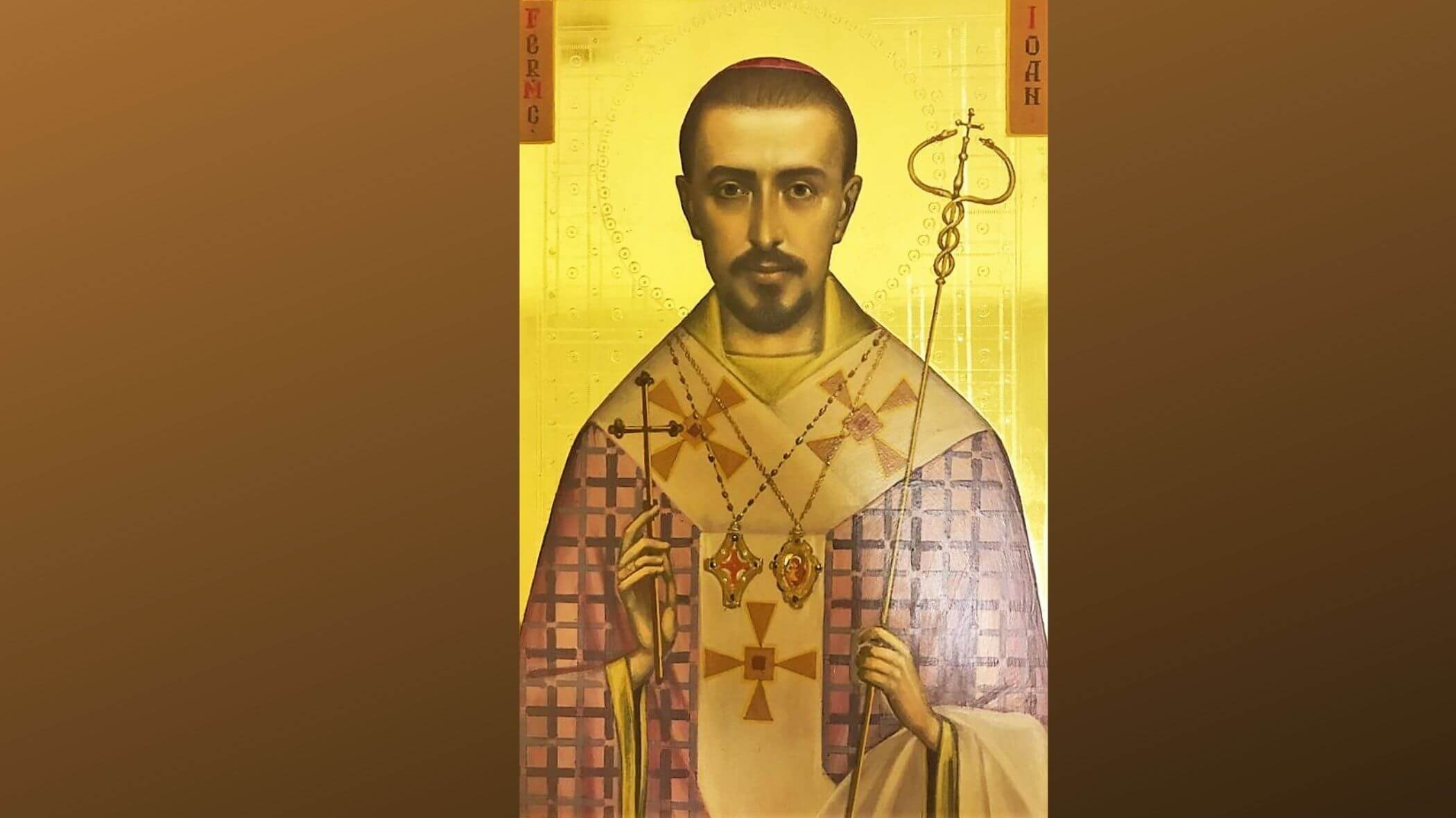 O icoană a Fericitului Ioan Suciu