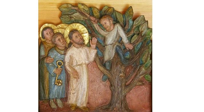 Dumnezeu ne vine în întâmpinare și ne privește de… jos în sus – PS Mihai la Duminica întâlnirii lui Isus cu Zaheu