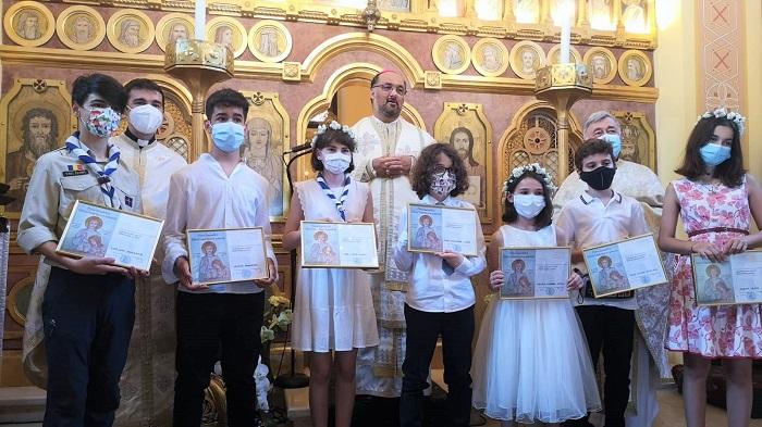 Prima Spovadă și Sfântă Împărtășanie solemnă la Catedrala Sf. Vasile