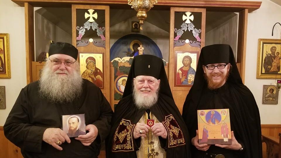 Fragmente din moaştele Fericitului episcop Martir Vasile Aftenie în SUA